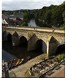 NZ2742 : Elvet Bridge, Durham by Paul Harrop
