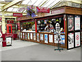 SE0641 : Newsagents and Refreshments Kiosk, Keighley Station by David Dixon