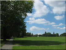 TQ4667 : Footpath in Poverest Park by David Anstiss