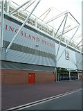 SU4212 : Rear of the Kingsland Stand, St Mary's Stadium by Basher Eyre