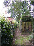 TM4160 : Footpath to Low Road & Chase's Lane by Geographer
