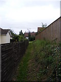 TM4160 : Footpath to Low Road by Geographer