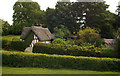 TL2923 : Thatched cottage, Benington, Hertfordshire by Julian Osley