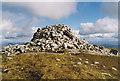 NN1666 : Summit cairn of Sgùrr a' Mhàim by Nigel Brown