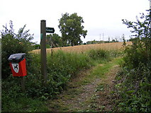 TM4160 : Footpath to Grove Road by Geographer