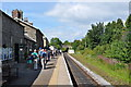 SE1190 : Leyburn Railway Station by Ashley Dace
