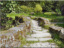SD9339 : Packhorse Bridge, Wycoller by David Dixon
