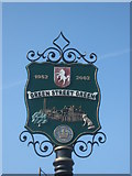 TQ4563 : Close-up of Green Street Green Village Sign by David Anstiss