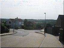 TQ4563 : Vine Road meets Glentrammon Road by David Anstiss
