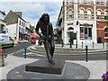 G8761 : Rory Gallagher sculpture, Ballyshannon by Kenneth  Allen