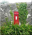 SW5033 : Victorian postbox at Angwinack by Graham Horn