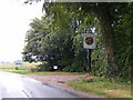 TM3677 : B1123 Chediston Street & the entrance to Grange Farm & Chediston Chase by Adrian Cable