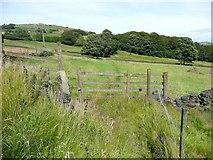 SE0026 : Stile on Hebden Royd Footpath 17, Mytholmroyd by Humphrey Bolton