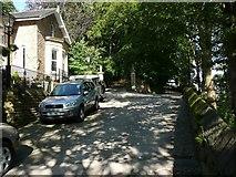 SE0026 : Hebden Royd Footpath 18 at Falling Royd Lodge, Hebden Bridge by Humphrey Bolton