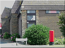 TQ4100 : Postbox on Bolney Avenue, Peacehaven by nick macneill