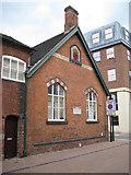 SJ9223 : St Chad's Schoolroom, Tipping Street by Robin Stott
