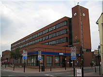 SJ9223 : Stafford Borough Council's offices  by Robin Stott