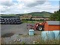 NT6014 : Farm yard near High Fodderlee by Oliver Dixon