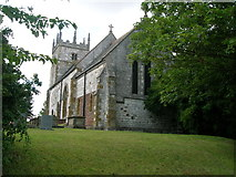 TA0912 : Church of St John, Croxton by JThomas