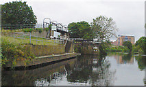 SE3419 : Fall Ing Lock from river below lock by Mike Todd
