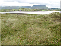G6551 : Dunes and Benbulbin by Jonathan Wilkins