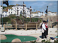 TQ8209 : Pirate mini golf by Oast House Archive