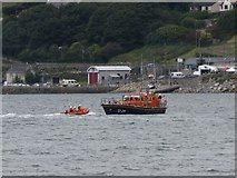 J3829 : Newcastle's two lifeboats stationed off the Lifeboat Station by Eric Jones