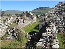 G6951 : Ruined hamlet, Drumfad by Jonathan Wilkins