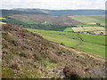 SK0287 : Lantern Pike view to Kinder Scout by Peter Turner