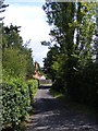TM2348 : Footpath to the A12 & The Street, Cherry Tree Farm & Seckford Hall Road by Adrian Cable