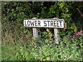 TM2348 : Lower Street sign by Adrian Cable