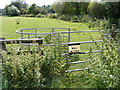TM2248 : Kissing Gate of Footpath to Lodge Road & Holly Lane by Adrian Cable