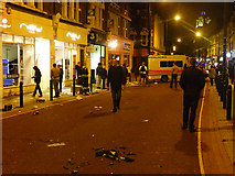 TQ2775 : Aftermath, St John's Road by Stephen Richards