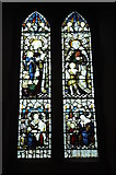 SU8985 : Stained glass window, Cookham by Philip Halling