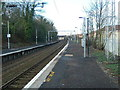 NS3474 : Woodhall railway station, looking WNW by Andrew Reid