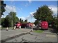 SJ9594 : Resurfacing Dowson Road by Gerald England