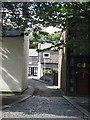 NU0051 : A narrow street, Spittal by Richard Webb