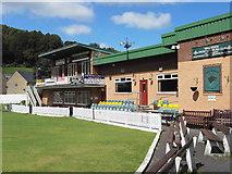 SD9321 : Walsden Cricket & Bowling Club, Scott Street off Rochdale Road, Walsden OL14 7SX by Robert Wade
