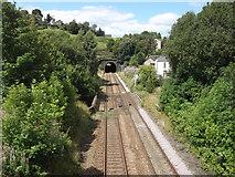 SD9321 : Railway Line, Rochdale Road, Walsden by Robert Wade