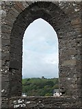 R1388 : View northwards from St Andrew's church in Ennistymon's old cemetery by Neil Theasby