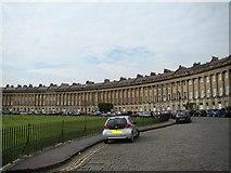 ST7465 : Royal Crescent terrace by Robert Lamb