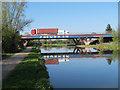 TL4861 : A14 bridge over the River Cam by Hugh Venables