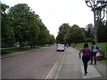ST7465 : View along Royal Crescent by Robert Lamb