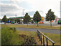 SK0207 : Norton Canes Service Area, M6 Toll Road by David Dixon