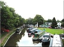 SO9262 : Worcester & Birmingham Canal, Hanbury Wharf by P L Chadwick
