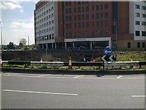 SU1584 : Whale Bridge Roundabout, Swindon May 2011 (1 of 2) by Brian Robert Marshall