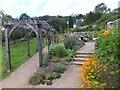 SX8060 : The herb garden at Leechwell Garden by David Smith
