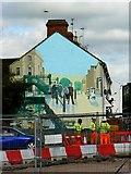 SU1584 : Mural, Medgbury Road, Swindon by Brian Robert Marshall