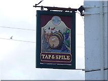 SH5873 : Tap & Spile, Bangor by Meirion