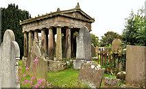 J5074 : The Corry Mausoleum, Movilla Abbey, Newtownards by Albert Bridge